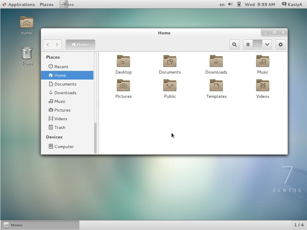 GNOME Desktop Environments